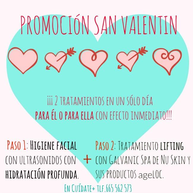 Promoción irresistible por San Valentin » 2 Tratamientos en 1″